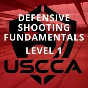 USCCA Defensive Shooting Fundamentals Level 1
