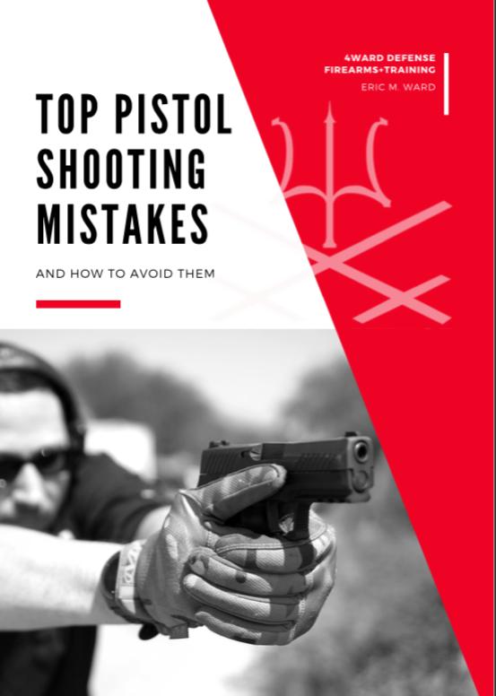 Top 11 Pistol Shooting Mistakes E-Book
