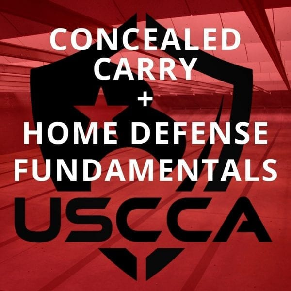 USCCA Concealed Carry and Home Defense Fundamentals Class